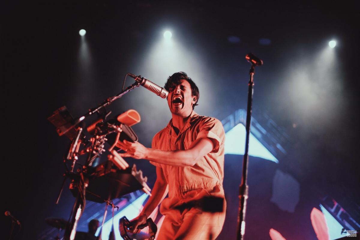 Young The Giant at the FivePoint Amphitheater by Steven Ward