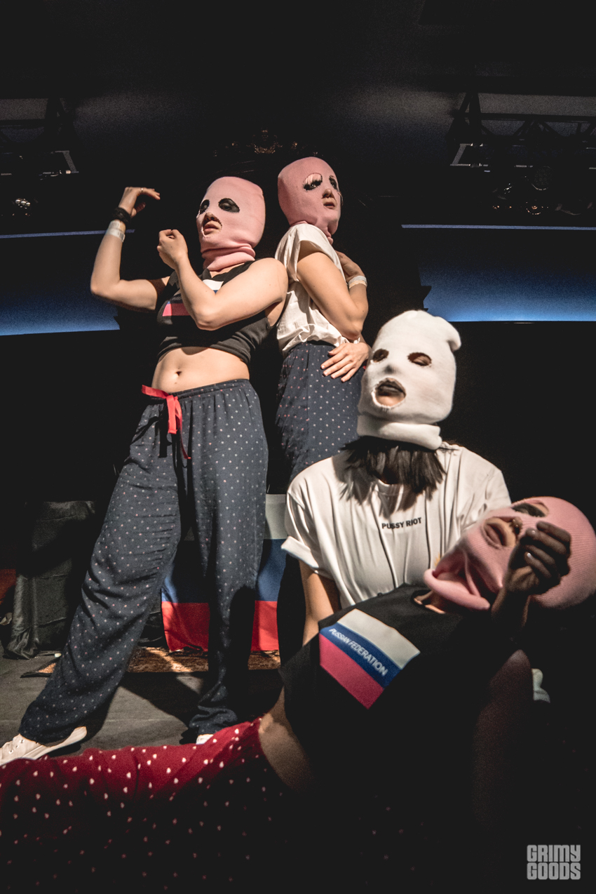 Pussy Riot. Photo by Farah Sosa