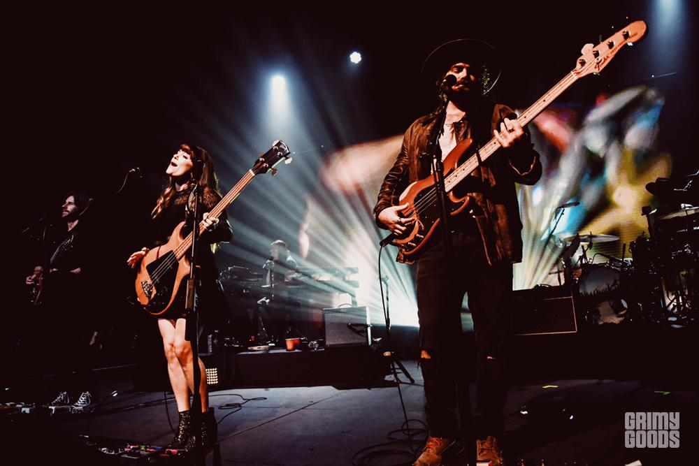 Angus & Julia Stone at the Fonda Theatre shot by Danielle Gornbein