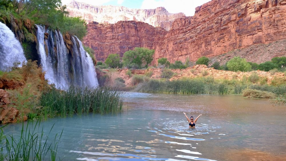 Fifty Foot Falls at Havasupai