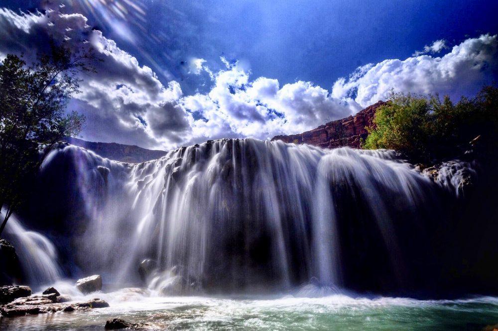 NAVAJO FALLS havasupai falls