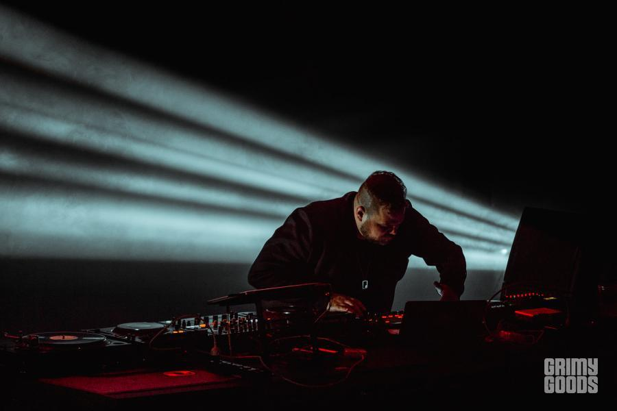 Com Truise at Exchange LA -- Photo: Kirby Gladstein