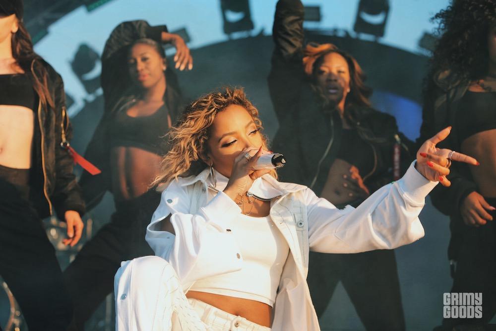 Tinashe at Air + Style 2018 by Steven Ward