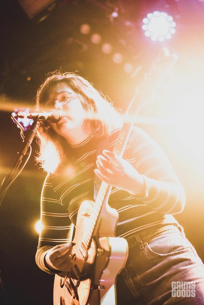 Lucy Dacus at the Teragram Ballroom