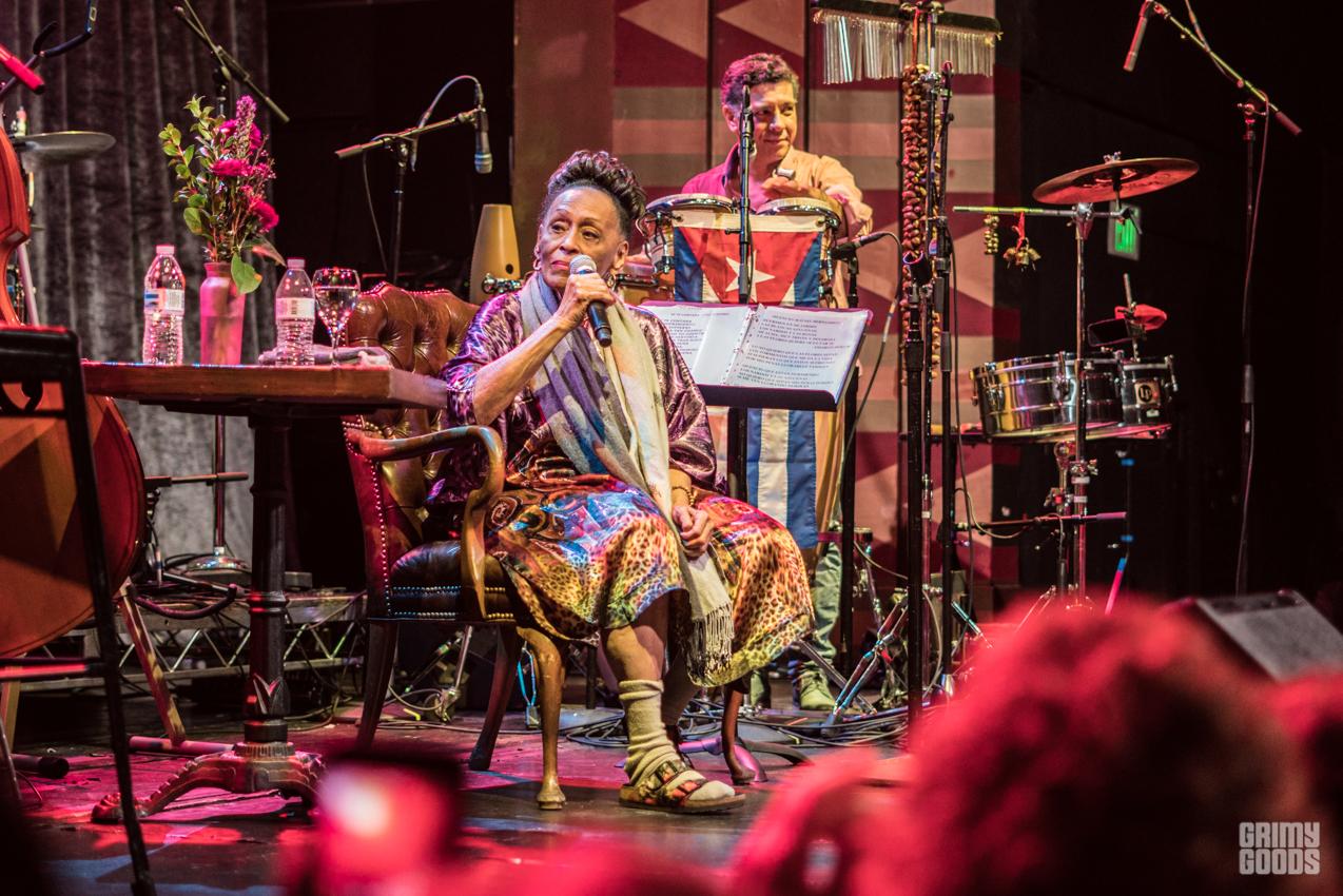 Omara Portuondo. Photo by Farah Sosa