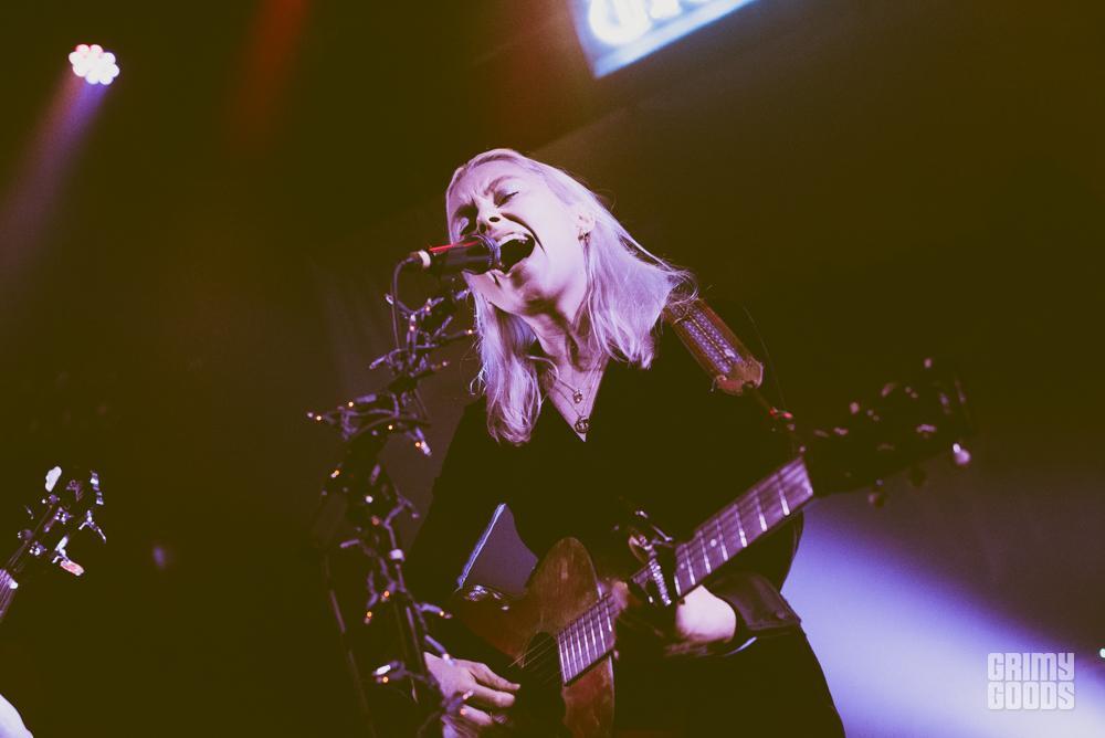 Phoebe Bridgers at the Troubadour shot by Danielle Gornbein