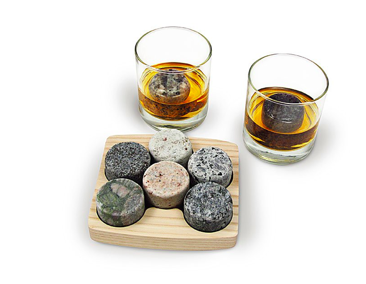 unique stone cocktail ice chillers Father's day gifts