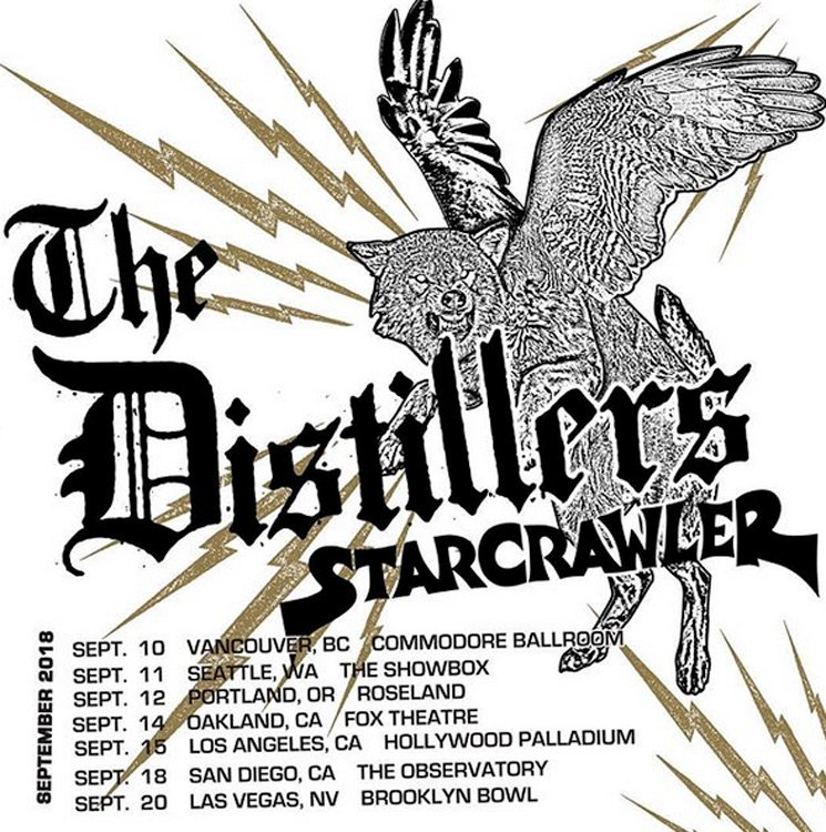 The Distillers at Hollywood Palladium