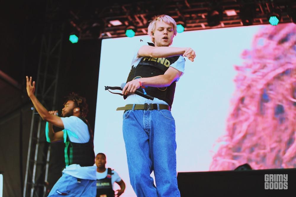 Brockhampton at Boston Calling by Steven Ward