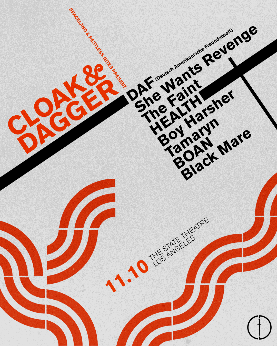 cloak and dagger festival