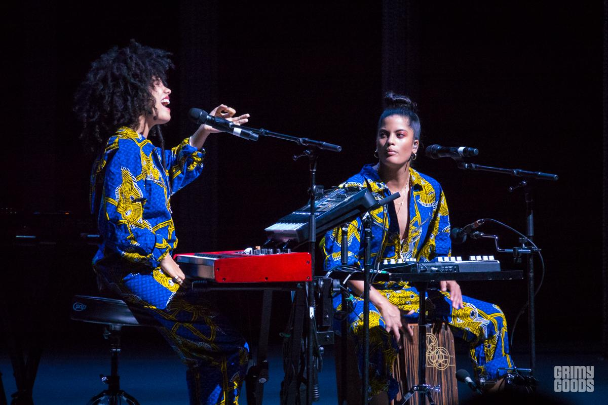Ibeyi at Shrine Auditorium