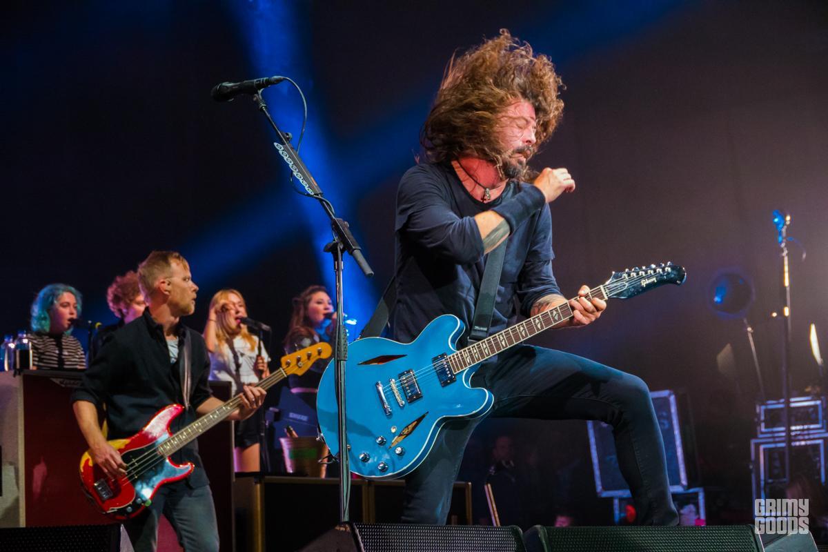 Foo Fighters, Cal Jam 18