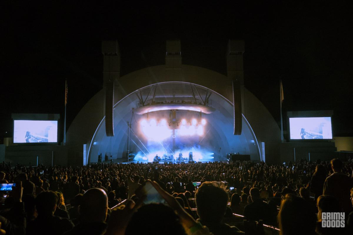Interpol at Hollywood Bowl