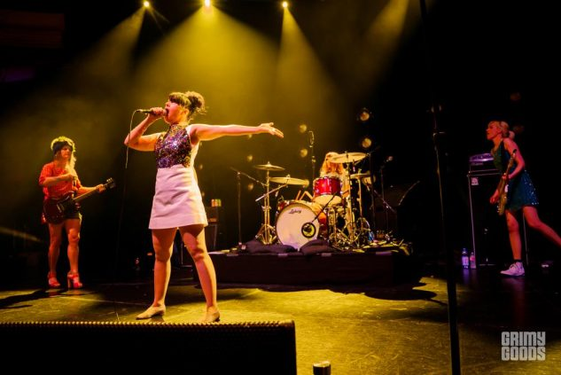 Bikini Kill at The Hollywood Palladium- Photo By ZB Images