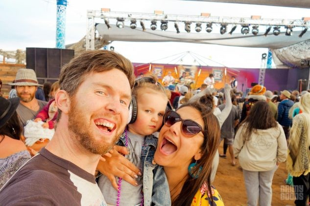 Joshua Tree Music Festival with kids