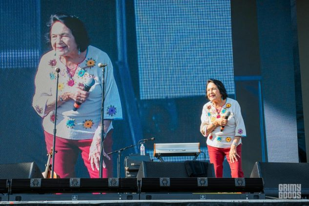 Dolores Huerta of at Yola Dia