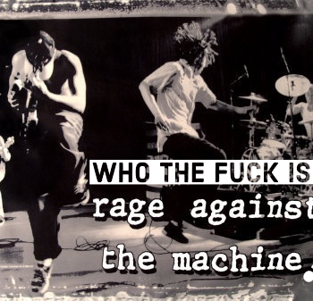 who TF is rage against the machine