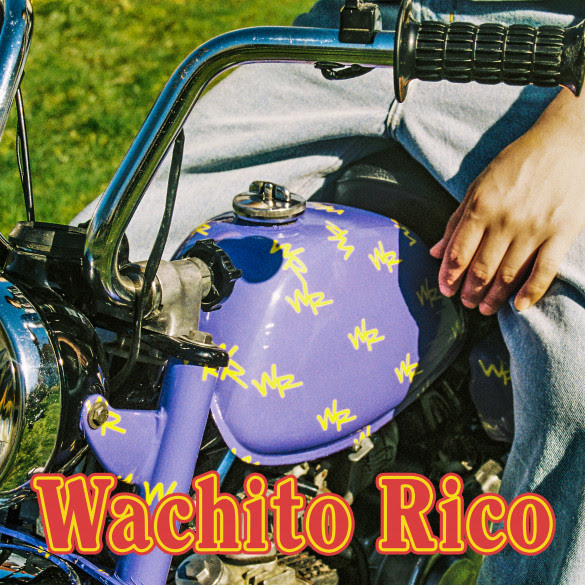 boy pablo wachito rico album art motorcycle