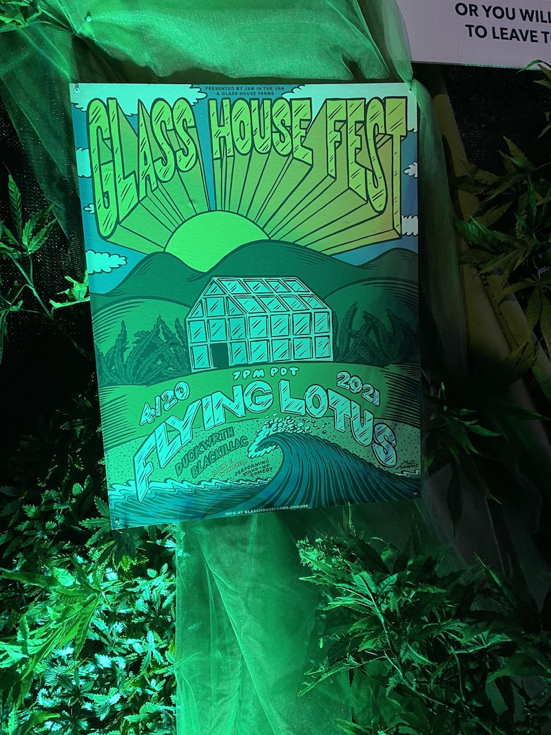 PHOTOS: Flying Lotus Performs at Secret Glass House Farms 420 Event